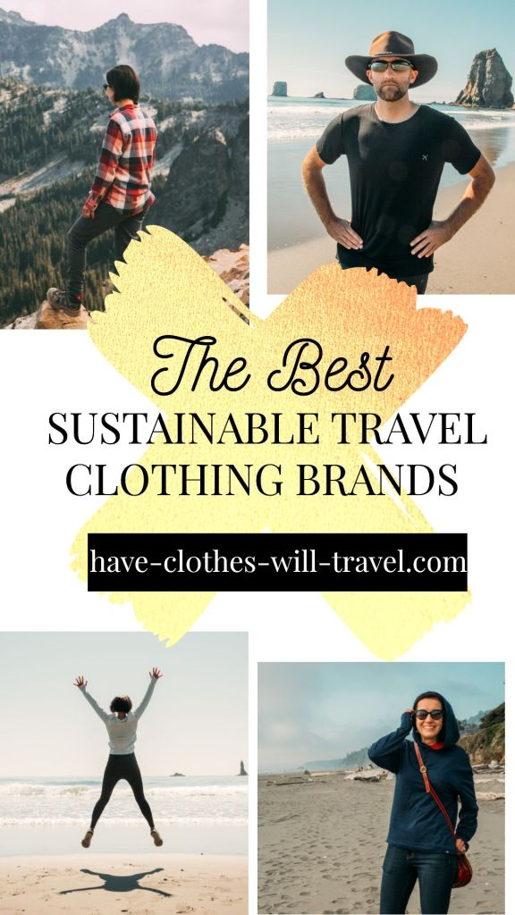 9 Awesome Sustainable Travel Clothing Brands for Women & Men