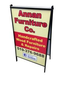 A-Frame for Annan Furniture Co.