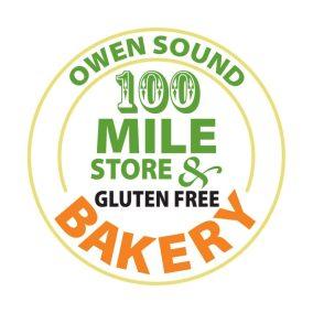 100 Mile Store & Bakery Logo