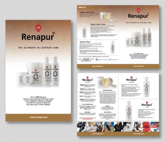 Renapar Half Fold Brochure