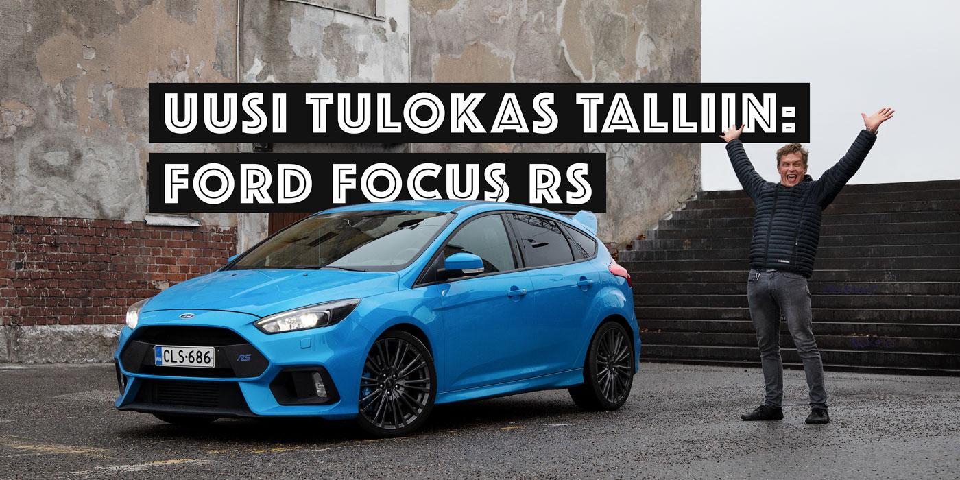 Ford Focus RS – heräteostoksen pikkutarkka anatomia