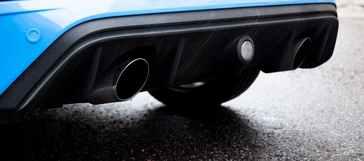 Focus RS:n vakioputkisto