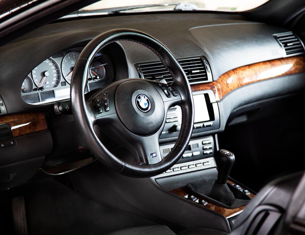 BMW E46 sisätilat