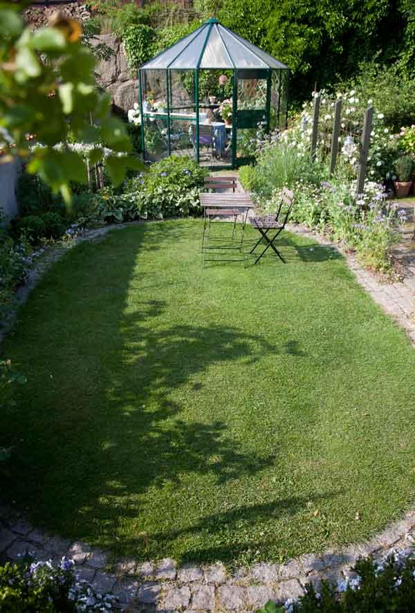 skab rum i haven