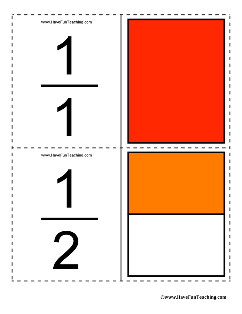 fraction flash cards this set of fractions flash cards includes 78