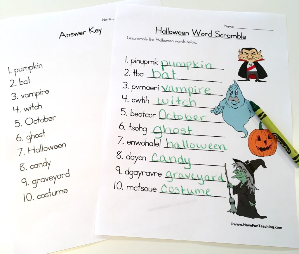 Halloween Resources To End October With