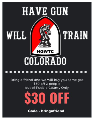 Trinidad Colorado Gun Training