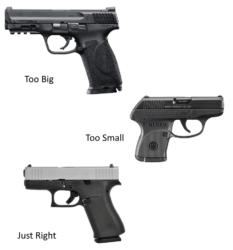 picking a handgun
