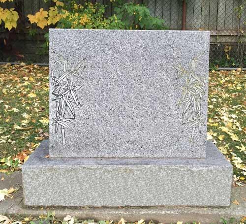 Double Headstones Monuments