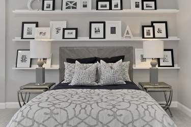 Haven-design-works-Atlanta-CalAtlantic-Washington D.C.-Glenbury Estates-model-home-Guest Room-Picture Ledge-min