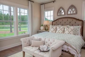 Haven-design-works-Atlanta-K.Hovnanian-Charleston-Lewes-model-home-Master-Bedroom-min