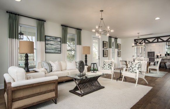 Feature Photo-Haven-design-works-Atlanta-Stanley Martin-Homes-Charleston-Mixson-model-home-Open Living