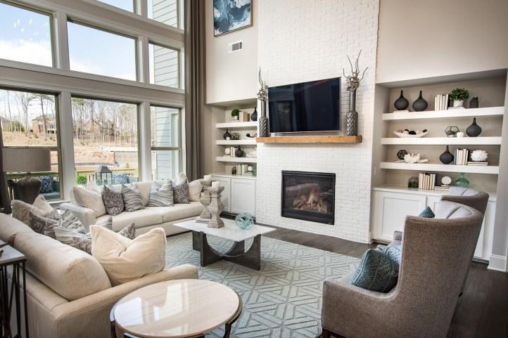 Haven-design-works-Atlanta-CalAtlantic-Atlanta-Briarstone at Nesbit Lakes-model-home-Family Room