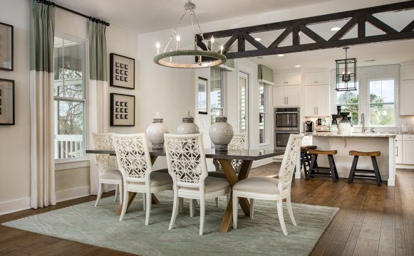 Haven-design-works-Atlanta-Stanley Martin-Homes-Charleston-Mixson-model-home-Dining Room