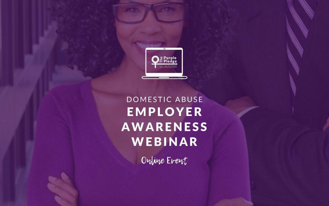 Domestic Abuse Employer Awareness Webinar