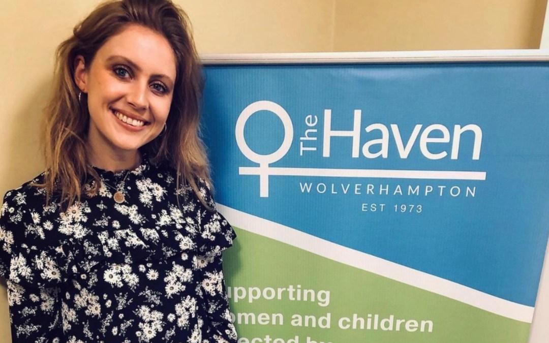 Sophie Warren runs London Marathon to raise funds for The Haven
