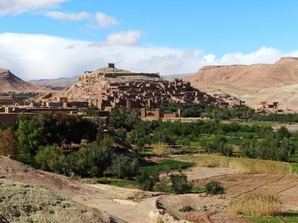 Ait Benhaddou ksar (walled village), a UNESCO World Heritage site in the Atlas Mountains between Bab Tichka pass and Ouarzazate.