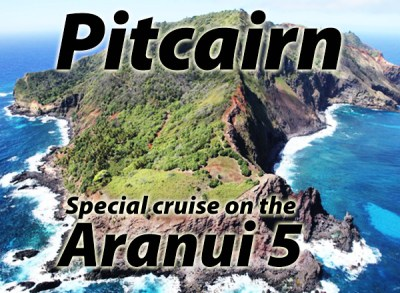 The Aranui 5 has two special cruises in 2019 to the Tuamotus, Gambier Islands, Austral Islands and Pitcairn.
