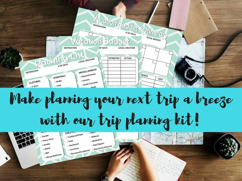 Free Printable Vacation Travel Budget Worksheet