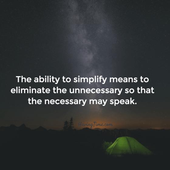 simplify quotes