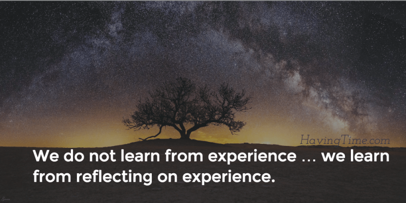 learn from experience