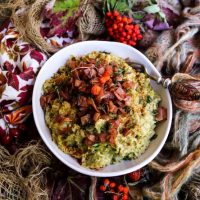 Brussels Sprouts Bacon Mash