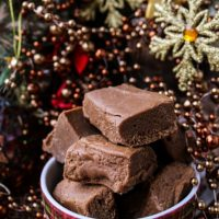 Gingerbread White Chocolate Fudge