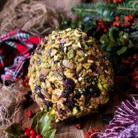 Cranberry Pistachio Cheese Ball