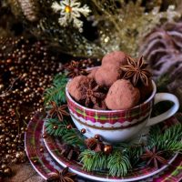 Gingerbread Chocolate Truffles