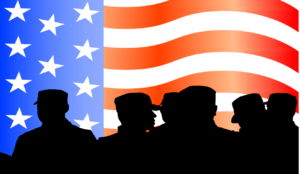 US soliders and flag dpc