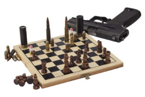 dangerous game, chess game, war game