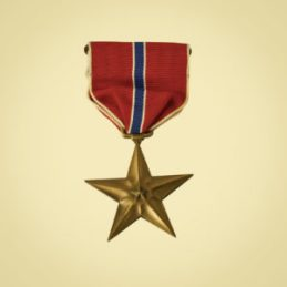 An American Bronze Star