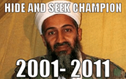 Osama hide and go seek