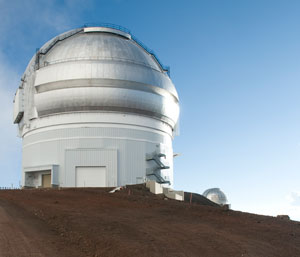 observatory at Mauna Kea