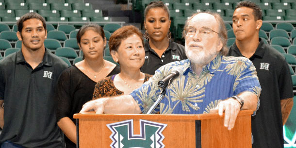 UH Athletes Support Anti-bullying Campaign
