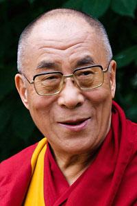 Dalai Lama portrait