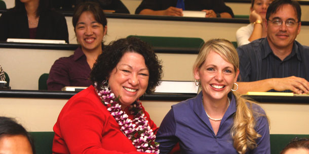 Justice Sonia Sotomayor Visits UH Law School