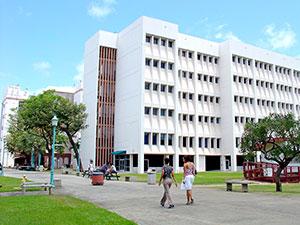 Building at Honolulu Community College