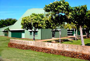 Building at the Molokai Education Center