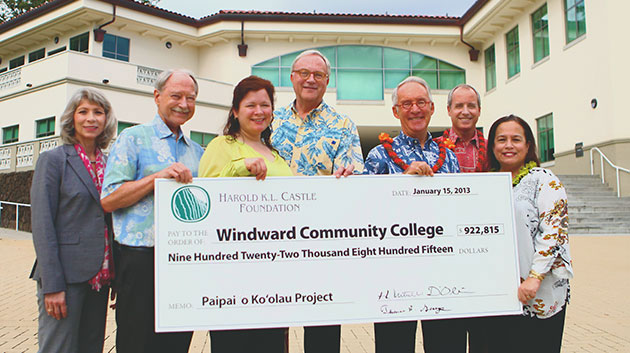 Largest Gift To Windward Supports Student Access