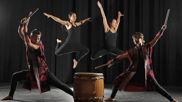 Kennedy Theatre Presents Taiko Drum And Dance