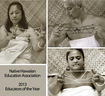 Clockwise from left, Gail Makuakane-Lundin, Taupouri Tangaro and Kekuhi Kanae Kanahele KealiikanakaoleoHaililani named 2013 Educators of the Year by the Native Hawaiian Education Association.