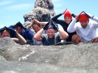 Group of people posing as opihis