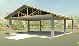 Rendering of the Learning Pavilion