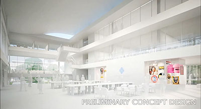 The Preliminary Conceptual Design For Daniel K Inouye Center On University Of Hawai