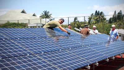 Solar energy utilization plays a major role in helping the University of Hawaiʻi achieve it's new policy goal of carbon neutrality by 2050.