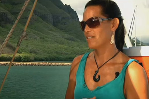 Hōkūleʻa navigator Kaʻiulani Murphy