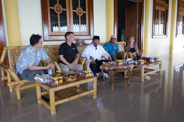 Sultan of Tidore of Eastern Indonesia