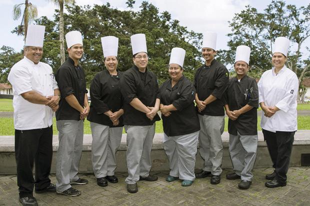 HARIETT culinary students