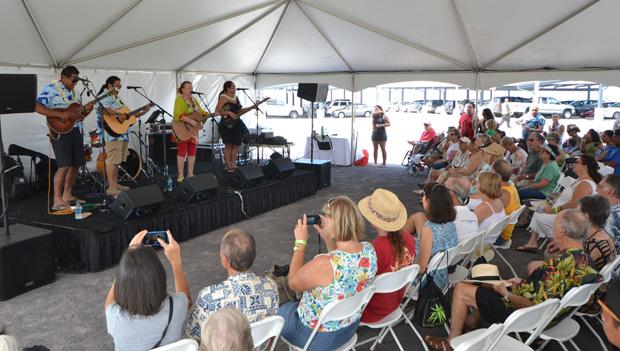 Entertainment at the Hawaii C C Palamanui event